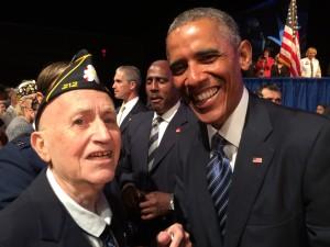 Garland Meets President Obama